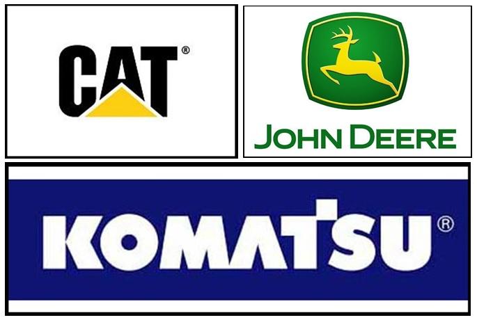 CAT DEERE KOMATSUCAT DEERE KOMATSU